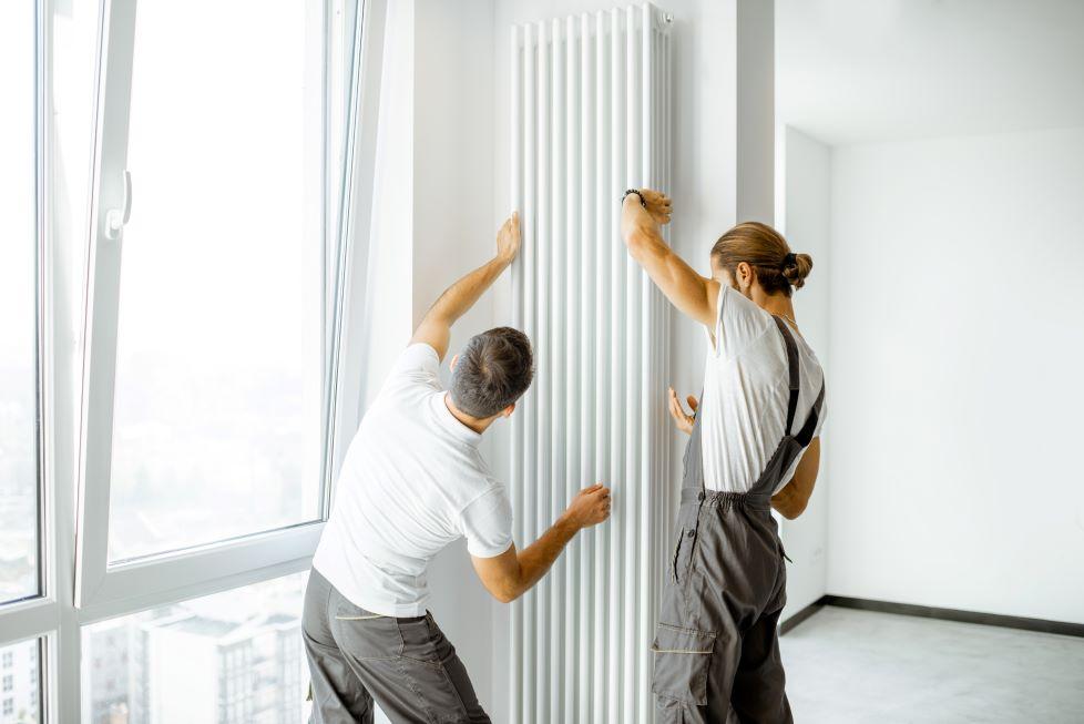 radiator csere